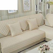 FEIZISamt-sofa-matte,kissen stoff short plüsch sofa cover-Q 90x70cm(35x28inch)