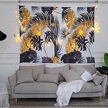 FEJK Tapisserie Wanddekoration Tropische