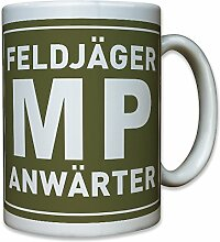 Feldjäger MP Anwärter Truppengattung Bundeswehr Bund Bw Militärpolizei Militär Polizei - Tasse Becher Kaffee #10238