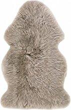 Fell-Teppich echtes Schaffell Natur Camel