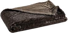 FELLDECKE 150/200 cm Anthrazit