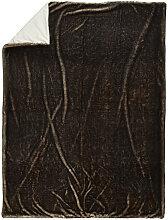 FELLDECKE 150/200 cm Grau