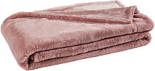 FELLDECKE 150/200 cm Pink