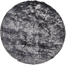 FELLTEPPICH  Grau, Silberfarben