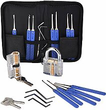 Felly Lockpicking Set 17-Teiliges Dietrich Set mit