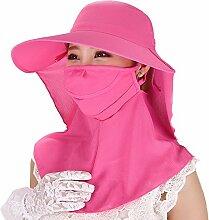 Female Summer Hat Biking Cover Gesicht UV