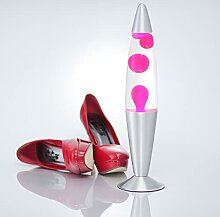 Feminine Lavalampe Pink Transparent JENNY H:42cm