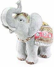 Feng Shui 10(H) Elephant Wealth Lucky Figurine