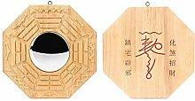 Feng Shui Bagua-Spiegel mit traditionellem