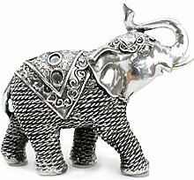 Feng Shui G16653 Glücksfigur, Elefant, 14 cm,