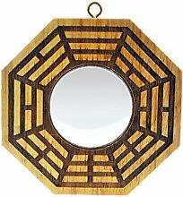 Feng Shui Spiegel Pfirsichholz, Bagua, Pakua,