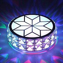Fengdp Moderne Metall kristall deckenleuchte Lampe