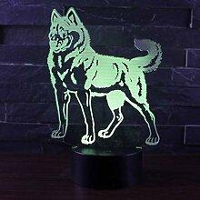 Fengdp Stehendes Nachtlicht der Lampe LED des