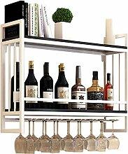FENGFAN Abgehängte Weinflaschenhalter |Weinregale
