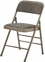 FENGFAN Stuhl Klappbarer Schreibtisch Sitz Starker