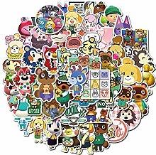 FENGHE Tierkreuzungsaufkleber 50 Animal Crossing