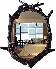 FENGHUANG Wandspiegel-Baumast, Der Ovalen