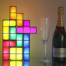 FENGZE Tetris Puzzle Light Stapelbare LED