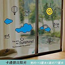 Fenster Aufkleber Glastür Aufkleber kreative