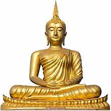 Fenster Aufkleber Golden Buddha Fensterfolie
