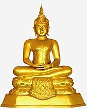 Fenster Aufkleber Golden Zen Buddha Fensterfolie