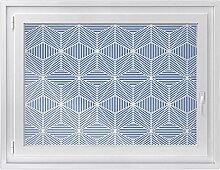 Fenster-Deko - Fenster-Bild | selbstklebende Glasdekorfolie - Klebefolie für Fenster | Küchenfenster verschönern - einfach anzubringen - rückstandslos ablösbar | Design Sternstunde - 100 x 70 cm