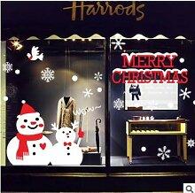 Fenster Fenster Wandaufkleber Weihnachtsbaum