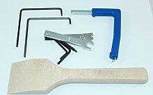 Fenster Montage Set 4 Einstell Werkzeug zum einstellen von Fenstern incl. SN-Einstellanleitung