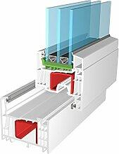 Fenster Salamander Streamline 76 mm Kunststoffenster PVC von Bayram Fenstersysteme