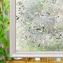 Fenster satinierte Folie, Glas Sichtschutz Folie,