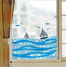 Fenster schiebetür bad glas film bad balkon welle