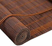 Fenster Sichtschutz Bambus Raffrollo Rollos
