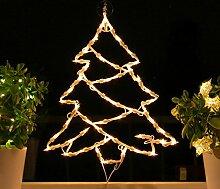 Fenster-Silhouette Weihnachten 50cm Weihnachtsdeko