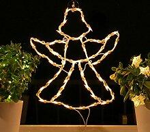 Fenster-Silhouette Weihnachten Weihnachtsdeko