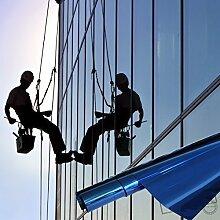 Fenster Spiegelfolie 400 x 152cm blau Tönungsfolie Sonnenschutz Fensterfolie Spion Folie