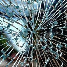 Fenster Splitterschutz Folie 2.200 x 152cm Sicherheitsfolie Splitterschutzfolie Einbruchschutzfolie Fensterfolie Folie