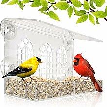 Fenster-Vogelfutterstation – herausnehmbare