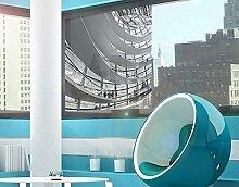 Fenster Wandbild im Berliner Reichstag II Fenster Aufkleber Fensterfolie Fenster Tattoo Glas Aufkleber Fenster Kunst Fenster Décor Fenster Dekoration, Maße: 144cm x 144cm