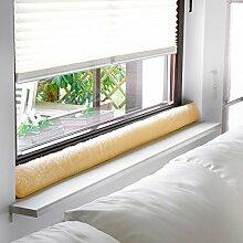 Fenster-Zugluftstopper, Größe 3, natur