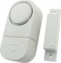 Fensteralarm - SODIAL(R) 10X Fensteralarm Tueralarm Sirene Alarmanlage Fenster Tuer Alarm Einbruchschutz