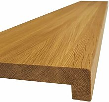 Fensterbank EICHE massiv Holz Treppenstufe
