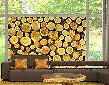 Fensterbild No.YK18 Baumstämme Bäume Wald Holz
