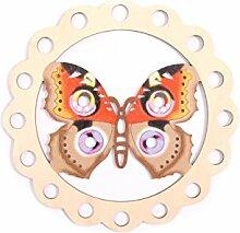 Fensterbild Ostern Frühling - Schmetterling -