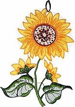 Fensterbild PLAUENER Spitze Sonnenblume