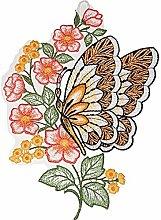 Fensterbild Plauener Stickerei ® 21x26 cm +