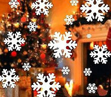 Fensterbilder für Weihnachten, 135 Stücke (5 x