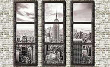 Fensterblick fototapete wandbild vlies natur für