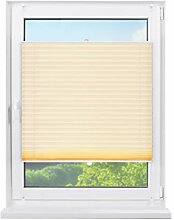 Fensterdecor Klemmfix Sichtschutz Plissee mit