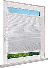 Fensterdecor Klemmfix Waben-Plissee Sichtschutz