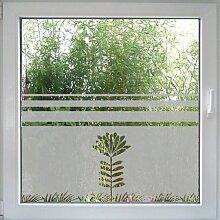 Fensterdekor Flower von Create&Wall - praktischer Sichtschutz und blumige Deko